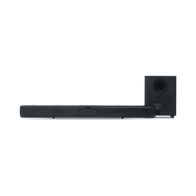 HK SB20 - Black - Advanced soundbar with Bluetooth and powerful wireless subwoofer - Back
