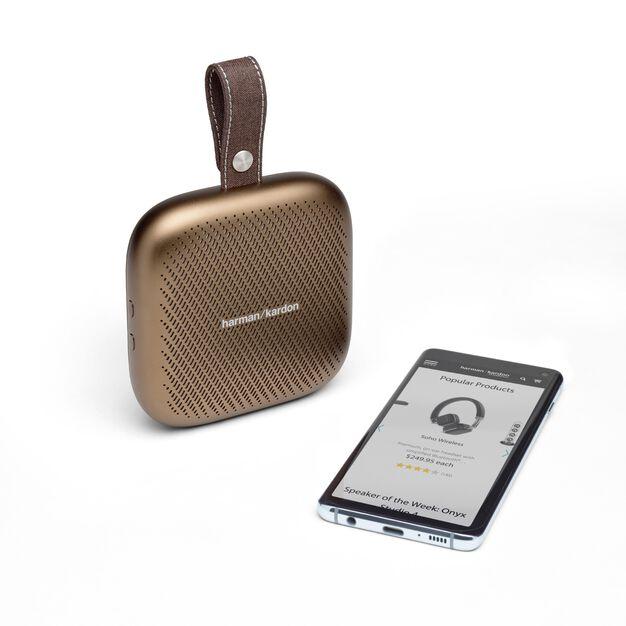 Harman Kardon Neo - Copper - Portable Bluetooth speaker - Detailshot 1